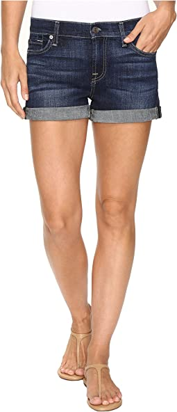 Roll Up Shorts in Nouveau New York Dark