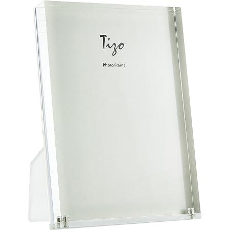 """Tizo 6/"""" X 4/"""" Acrylic Crystal Clear Photo Frame"""