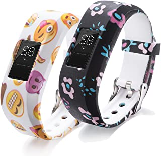 Ruentech - Correa de repuesto de reloj de pulsera con cierres seguros para rastreador de actividad Garmin Vivofit JR Kid, ...