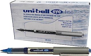 Uni-ball Eye fine Roller pen Blue Pack of 12