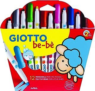 Giotto be-bè 466700 - Estuche 12 rotuladores súper lavable