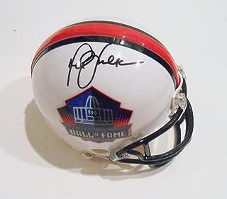 Marshall Faulk Signed Mini Helmet - Hall of Fame w COA - Autographed NFL Mini Helmets