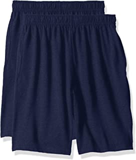 Hanes Big Boys Jersey Short (Pack of 2)