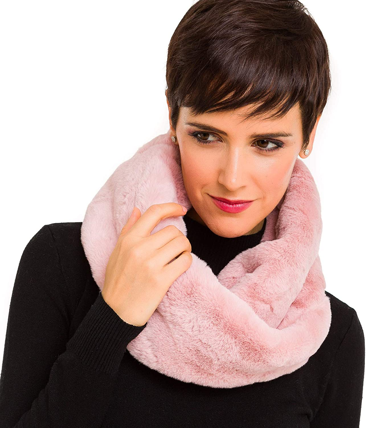 Fur Collar 2021 Scarf for Women Faux Max 77% OFF Neck Scarves Shrug Fall