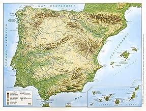 Amazon.es: mapa españa fisico: Libros