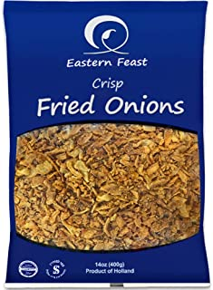 EF - Fried Onions (2 PACK), 14 oz each, Product of Holland
