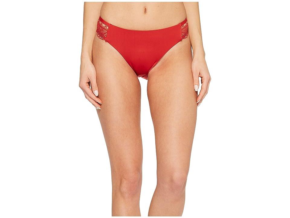 Laundry by Shelli Segal Scallop Lace Hipster Bikini Bottom (Spice) Women