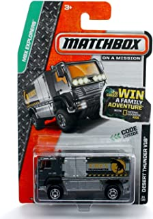 Matchbox Desert Thunder V16 (T-Rex Transporter) MBX Explorers 2013 on a Mission 1:64 Scale Basic Die-Cast Vehicle (#34 of 120)