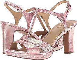Pink Metallic Dust Leather