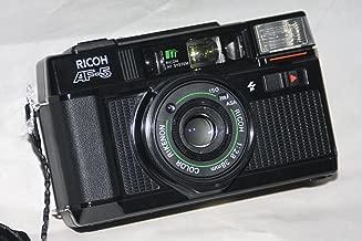 Ricoh Company Lty. Ricoh AF-5 35mm Film Camera Ricoh AF System w/ Ricoh 1:2.8 38mm Color Rikenon Lens w/ ISO 25, 64, 100, 200, 400, 1000 ASA 35mm Film Camera (Black Color)