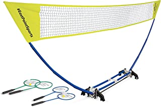 Easy Setup Portable Badminton Net Set