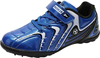Kids Soccer Football Shoes Arch-Support Indoor Outdoor...