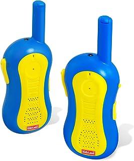 Walkie Talkies para niños   Alcance de 1mile   3canales   Durable, divertido y fácil de usar