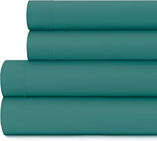 Briarwood Home Luxury Jersey Sheet Set- Extra Soft 100% Cotton Breathable Sheets – 150 GSM Deep Pocket, Easy Fit – Comfortable & Cozy – All Season Bedding Sheets (California King, Teal)