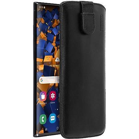 Mumbi Echt Ledertasche Kompatibel Mit Samsung Galaxy Note10 Hülle Leder Tasche Case Wallet Schwarz Elektronik