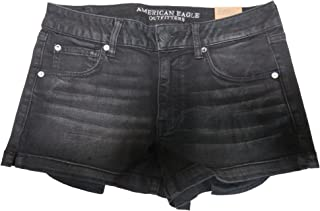 Outfitters Womens Shortie Shorts Black, 12