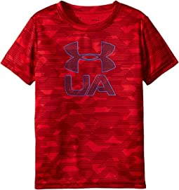 Under Armour Kids Edge Camo Logo Short Sleeve (Little Kids/Big Kids)