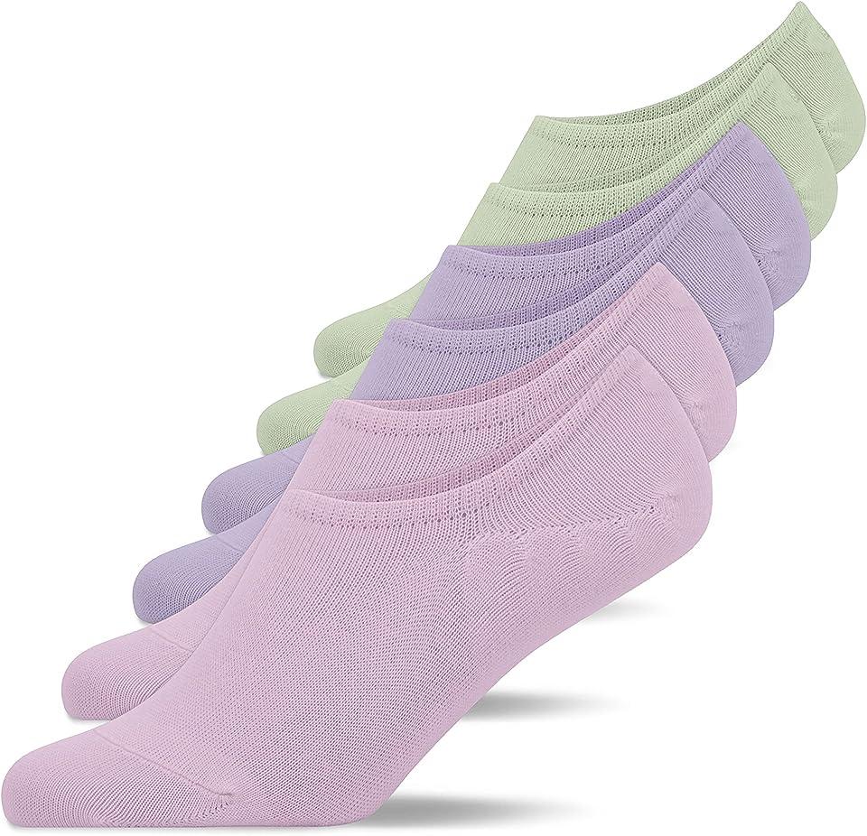 Sneaker Socken Damen & Herren (6x Paar) Füßlinge