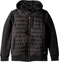 O'Neill Kids - Shibuya Quilted Hoodie Fashion Fleece (Big Kids)