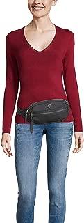 Tommy Hilfiger Women's Monogram Plaque Zipped Bumbag Monogram Plaque Zipped Bumbag, Black, One Size