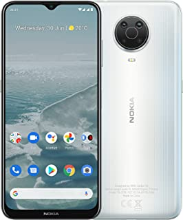 "Nokia G20 Android Smartphone, Dual Sim, 4GB RAM, 128 GB Memory, 6.5""HD+ Screen,5050 mAh battery, Android 11, Face Unlock, ..."