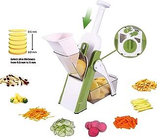 Vegetable Cutter Mandoline Slicer,ONCE FOR ALL.Food Chopper,Dicer Fruit,French Fry Julinner