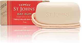 ST JOHNS BAY RU SOAP-ON-A-ROPE (Bay Rum)