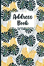 Address Book: Address Book with Tabs For Women with nice Floral cover Design Over 400+ Record and Organizer (Portable Size...