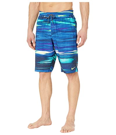 Nike 11 Sky Stripe Vital Volley Shorts (Midnight Navy) Men