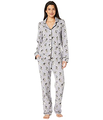 BedHead Pajamas BedHead Pajamas x Disney Vintage Mickey (Vintage Mickey/Grey Heather) Women