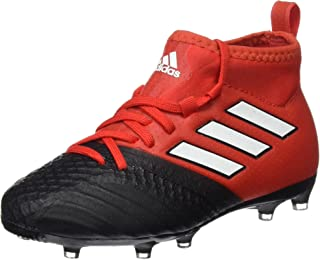 adidas Ace 17.1 FG Junior Football Boots (UK 4 US 4.5 EU 36 2/3, red White Black BA9214)