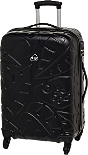 Kamiliant by American Tourister Pinnado Hardside Spinner Luggage 67cm with 3 digit Number Lock - Black