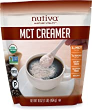 Nutiva Organic MCT Creamer, 16 Oz