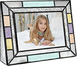 4×6 Picture Frames Colorful Horizontal Photo Table Top Blue Peach Purple Turquoise..