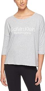 Calvin Klein Women's 3/4 Logo Tee