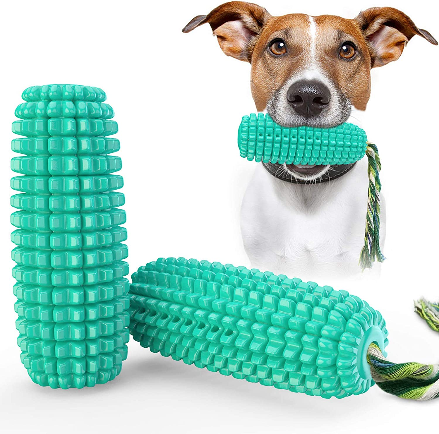 HRXS Pet Products Corn Molar Don't miss the campaign Squeaking Max 55% OFF Stick Dog Toothbrush