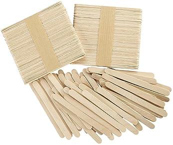 Barley33 Color Matchsticks 500PC Pack Ni/ños DIY Palos de Madera Kid Material Hecho a Mano Suministros de artesan/ía Creativa