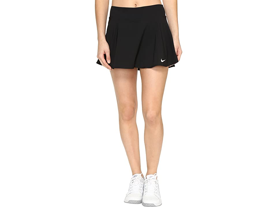 Nike Nike Court Flex Pure Tennis Skirt (Black/White) Women