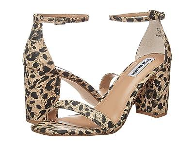 Steve Madden Delrey Heeled Sandal (Leopard) Women