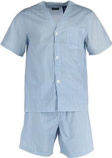 Fruit of the Loom Men's Broadcloth Short Sleeve Pajama Set