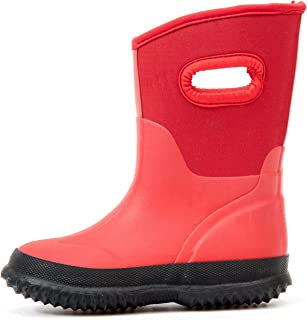 kids rain and snow boots