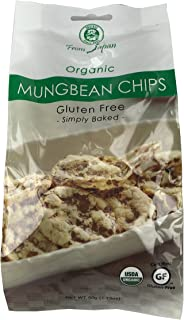 Muso From Japan Organic Chips, Gluten Free, Mung Bean, 1.75 Ounce (Pack of 20)