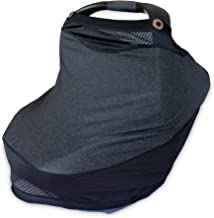 Boppy 4 and More Multi-Use Cover for Baby Car Seat Canopy, Nursing Scarf, Shopping Cart Cover, High Chair Cover, and More,...