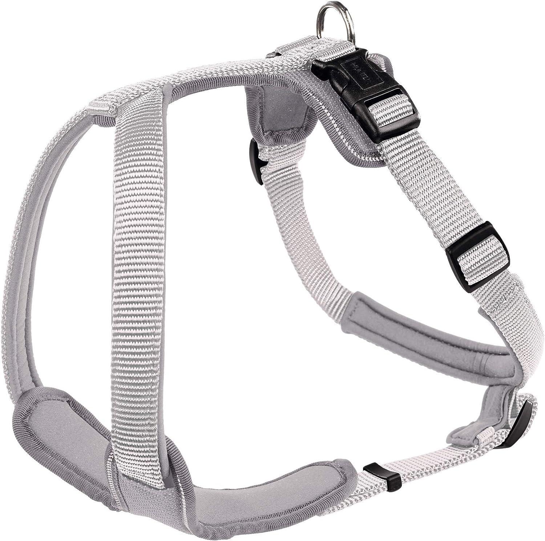 Hunter Neoprene Harness, XLarge, 7394 cm, 25 mm, Grey
