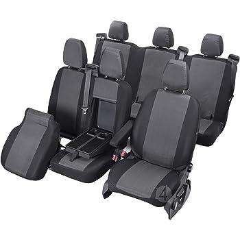 Z4L Sitzbez/üge Hero Passgenau geeignet f/ür Ford TOURNEO Custom ab 2012-9 Sitze