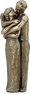 JFSM INC. Soulmates Lovers Kissing Sculpture - Perfect Wedding