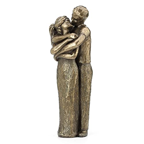 JFSM INC. Soulmates Lovers Kissing Sculpture - Perfect Wedding