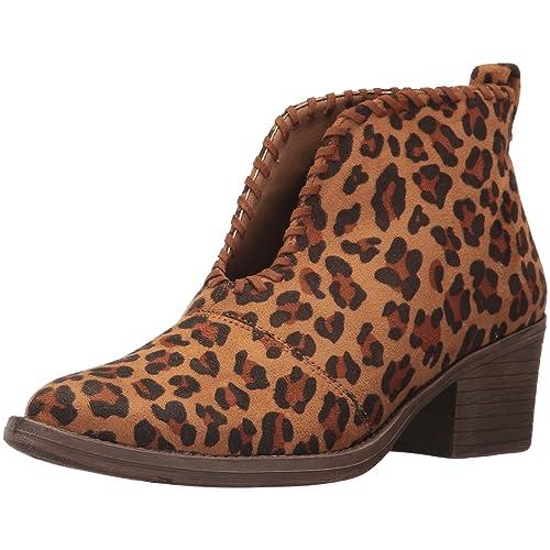 10d5b0dea Women's Leopard Print Booties: Amazon.com