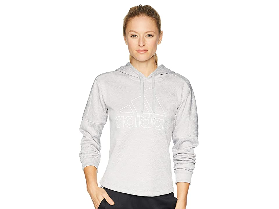 adidas Team Issue Badge of Sport Pullover (Grey 2 Melange) Women