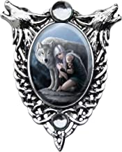 Protector Enchanted Cameo Pendant by Anne Stokes